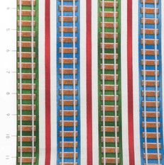 The Color Express Railroad Stripe Vertical by Quilting Treasures