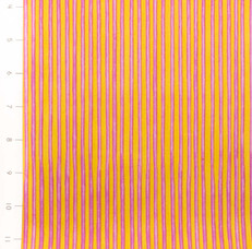 Carousel Circus Stripe Fuchsia Yellow by Quilting Treasures