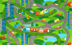 On the Go Playmat by Wilmington