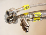 HEL Performance Braided Brake Line Kit for VW Golf Mk4 with Porsche Calipers
