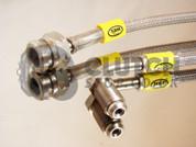 HEL Performance Braided Brake Line Kit for VW Golf Mk5 with Porsche Calipers