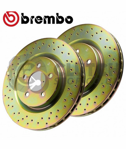 Brembo Drilled Rear discs RD175000