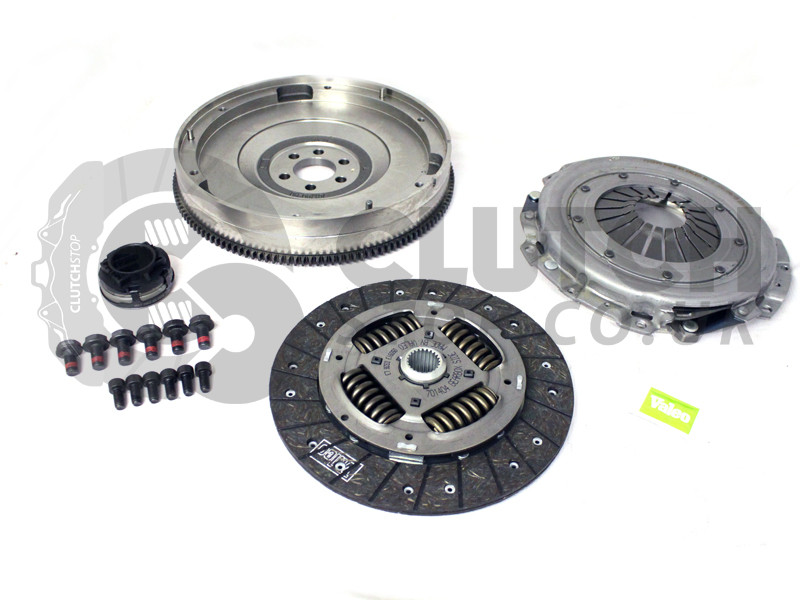 valeo single mass flywheel smf clutch kit  audi  vw passat  speed ajm awx clutchstop
