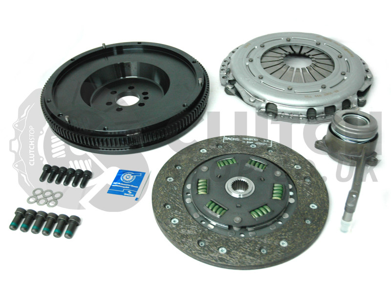 sachs race single mass flywheel smf clutch kit  vw   speed clutchstop