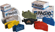 Pagid   E1265 Rs4-2  Brake Pads Front, Caterham