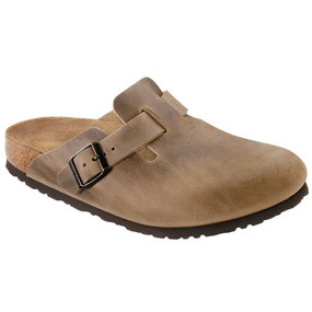 Birkenstock Boston - Tobacco Oiled Leather (Regular Width)