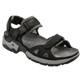 Men's Alligator - Black Waxy / Grey Neoprene
