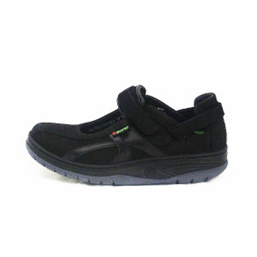 Women's Excess - Black Nubuck / Perl Calfskin