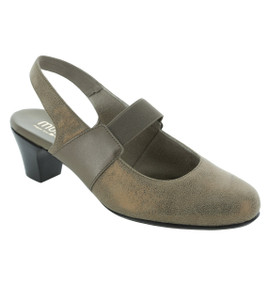 Women's Ella - Taupe Metallic