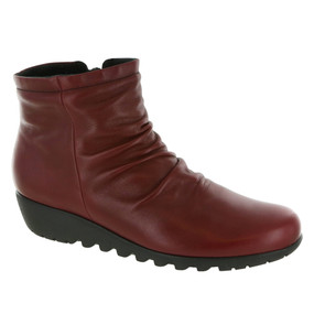 Women's Riley Boot - Red Leather