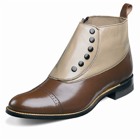 Men's Madison Demi Boot - Brown & Taupe