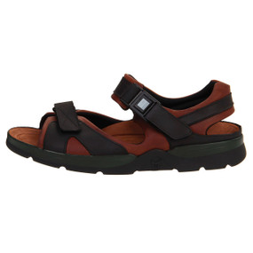 Men's Shark - Dark Brown / Black Waxy