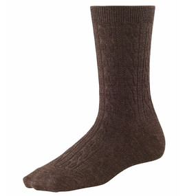 Women's Cable II Socks - Chestnut