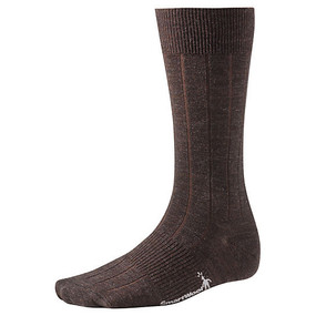 Men's City Slicker Socks - Chocolate Heather