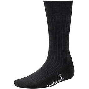 Men's New Classic Rib Socks - Charcoal