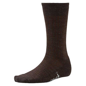 Men's New Classic Rib Socks - Chestnut