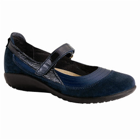 Women's Kirei - Polar Sea Leather / Blue Velvet Suede / Navy Patent Leather