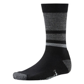 Men's Shed Stripe Socks - Black