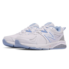 857v2 Women's Cross-Training - White with Light Blue