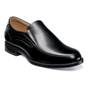 Midtown Moc Toe Slip On - Black