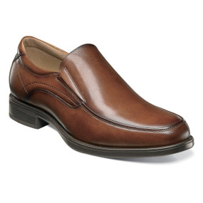Midtown Moc Toe Slip On - Cognac