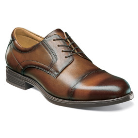 Florsheim Men's Midtown Cap Toe Oxford - Cognac