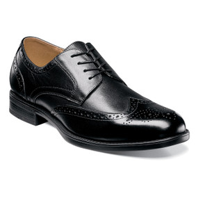 Florsheim Men's Midtown Wingtip Oxford - Black