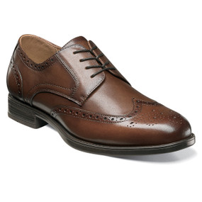 Florsheim Men's Midtown Wingtip Oxford - Cognac