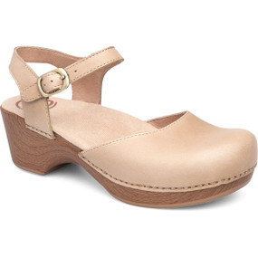 Dansko Women's Sam - Sand Dollar Full Grain Leather