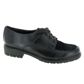 Women's Veranda - Black Leather / Black Suede