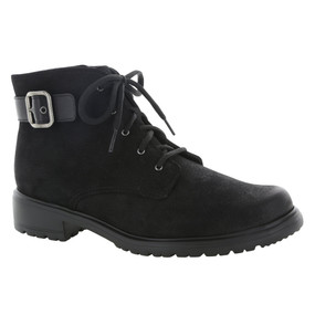 Women's Bradley - Black Tumbled Nubuck