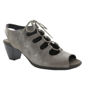 Munro Women's Jillie - Pewter Metallic Nubuck