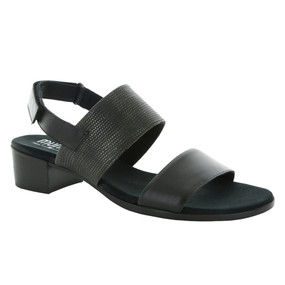 Women's Kristal - Black Leather