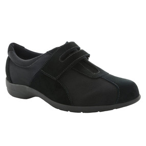 Women's Joliet - Black Fabric / Black Suede