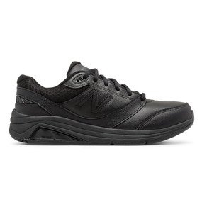 928v3 Women's Walking - Black Leather