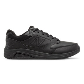 928v3 Men's Walking - Black Leather