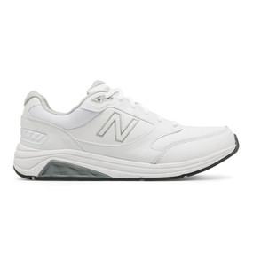 928v3 Men's Walking - White Leather