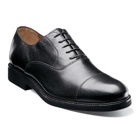 Florsheim Men's Gallo Cap Ox - Black