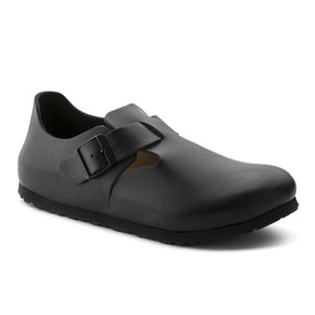 London  - Hunter Black Soft Footbed  (Narrow Width)