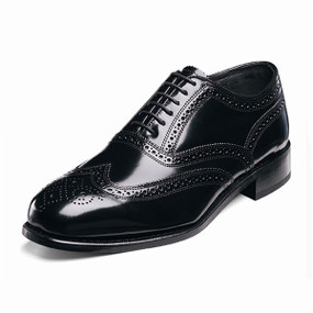 Men's Lexington Wing Tip Brogue - Black