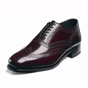 Men's Lexington Wing Tip Brogue - Wine