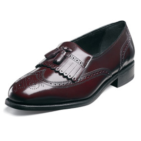 Florsheim Men's Lexington Kiltie Tassel- Wine