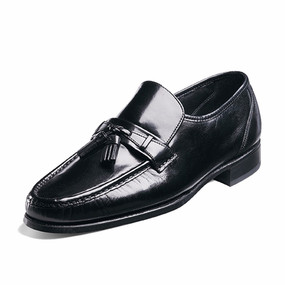 Men's Como - Loafer with Tassels Black
