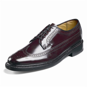 Florsheim Men's Kenmoor (Wing Tip Brogue) - Wine