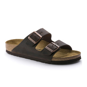 Birkenstock Arizona - Habana Oiled Leather (Narrow Width)