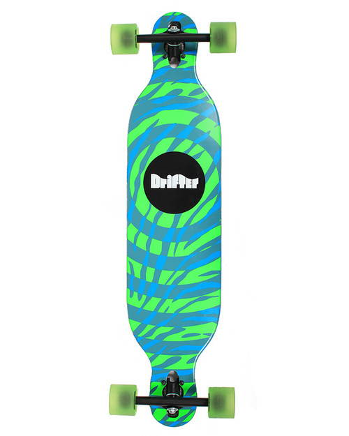 THE MOON BUGGY 38″ DROP THROUGH IN BLUE/GREEN