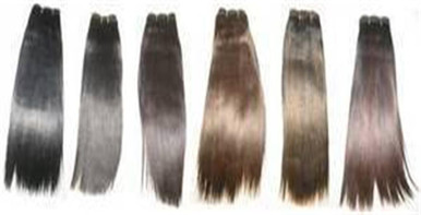 "12"" 100% Human Hair Yaki Weave, 100g, Tangle Free, by Alexxis"