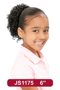 """8"""" Synthetic Hair Drawstring Ponytail Kids DS Hairpiece #175"""