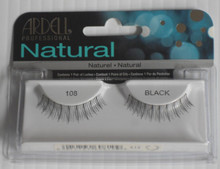 ARDELL Fashion Eyelashes: 108 Black (Pack of 4)