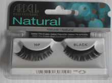 ARDELL Fashion Eyelashes: 107 Black (Pack of 4)